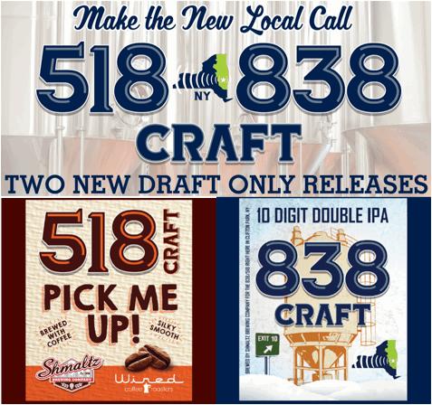 Shmaltz 518 Craft 838 Craft labels BeerPulse