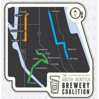 South Seattle Brewery Coalition Map BeerPulse