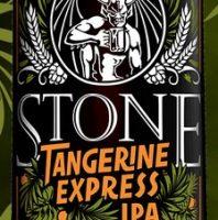 Stone Tangerine Express bottle label BeerPulse