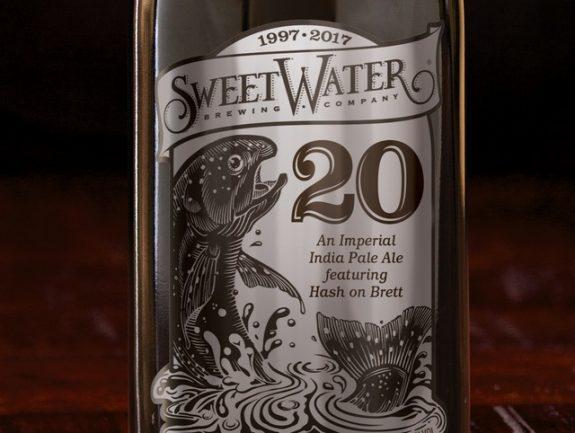 SweetWater 20 Imperial IPA bottle BeerPulse