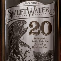 SweetWater 20 Imperial IPA bottle BeerPulse