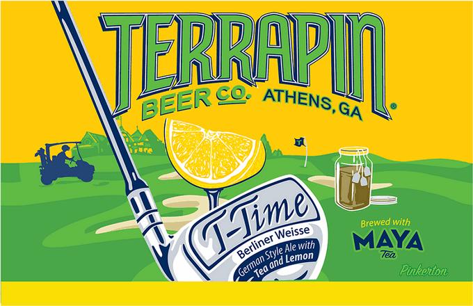 Terrapin T-Time Berliner Weisse label BeerPulse