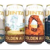 Uinta Golden Ale Rotating Park Series cans BeerPulse II
