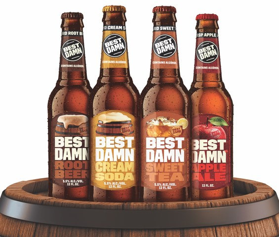 Best damn cream soda and sweat tea up next for brand 39 s for Take craft beer back