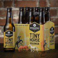BridgePort Tiny Horse Pilsner bottles BeerPulse
