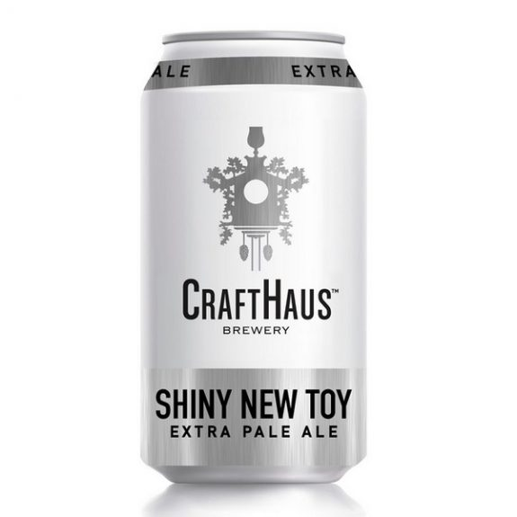 Crafthaus Shiny New Toy 12oz can BeerPulse