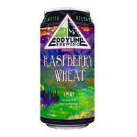 Eddyline Raspberry Wheat pint can BeerPulse II