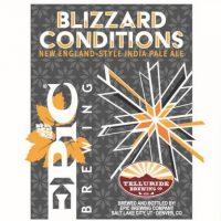 Epic Telluride Blizzard Conditions label BeerPulse