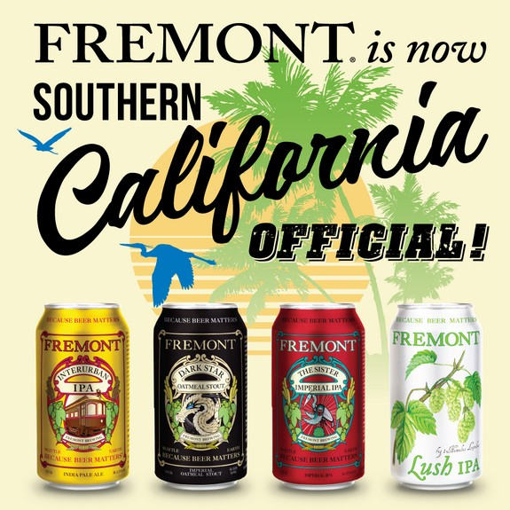 Fremont Brewing And Stone Distributing Announce Southern