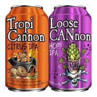 Heavy Seas TropiCannon and Loose Cannon BeerPulse