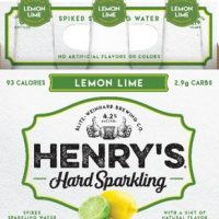 Henry's Hard Sparkling Lemon Lime