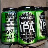 Rahr and Sons Dadgum IPA cans BeerPulse