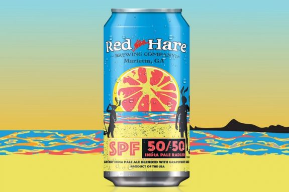 Red Hare SPF 50-50 India Pale Radler can BeerPulse