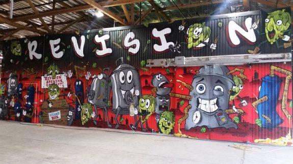 Revision Brewing mural BeerPulse
