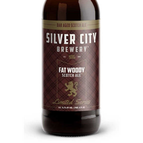Silver City Fat Woody Scotch Ale bottle crop BeerPulse