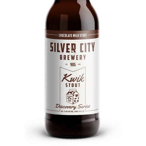 Silver City Kwik Stout bottle crop BeerPulse