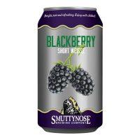 Smuttynose Short Weisse Blackberry can BeerPulse