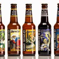 Sprecher beer bottles BeerPulse II