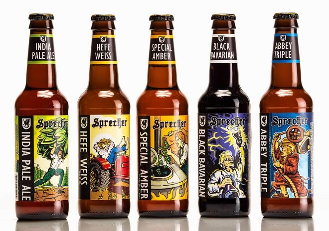 sprecher brewery updates yearround beer labels craft