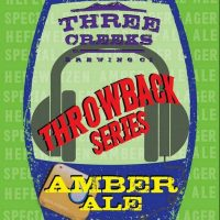 Three Creeks Throwback Series Amber Ale