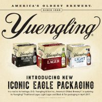 Yuengling Iconic Eagle Packaging BeerPulse