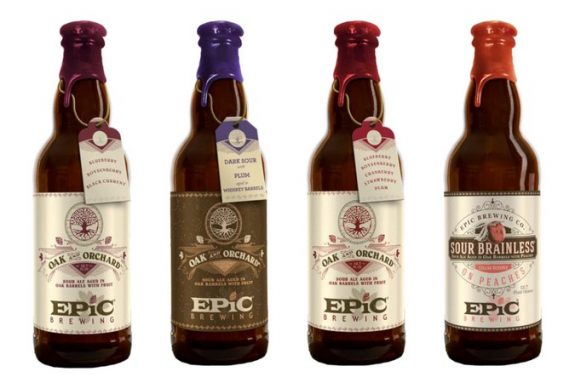 epic brewing oak and orchard bottles beerpulse