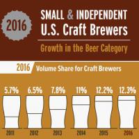 us craft beer growth 2016 beerpulse