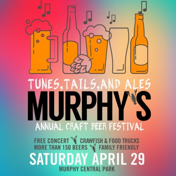 Tunes Tails and Ales Murphys banner BeerPulse