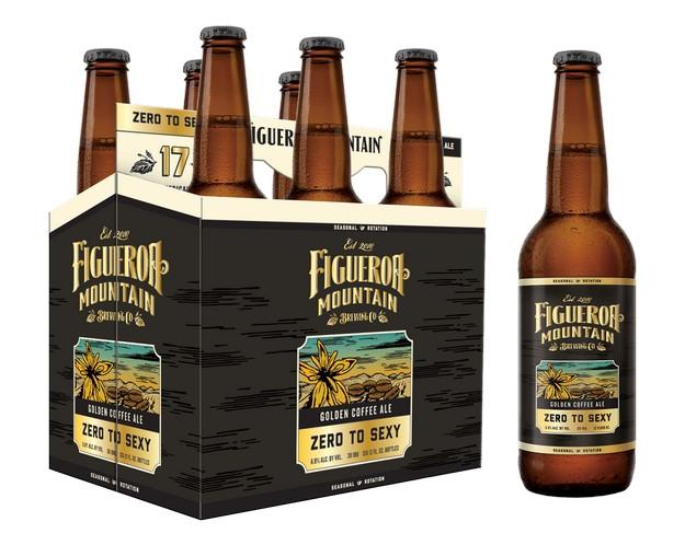 Figueroa Mountain Zero to Sexy Golden Coffee Ale BeerPulse