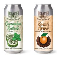 High Water Cucumber Kolsch Break Apart cans BeerPulse