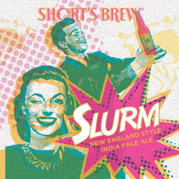 Short's Slurm NE-style IPA label