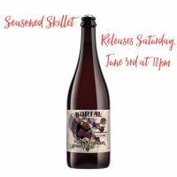 Burial Beer Seasoned Skillet bottle BeerPulse