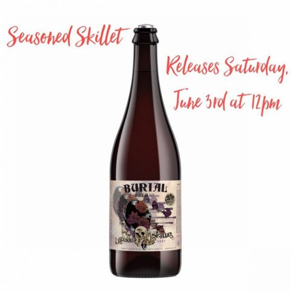 Burial Beer Seasoned Skillet and A Paranormal Vibe release set for Saturday, June 3