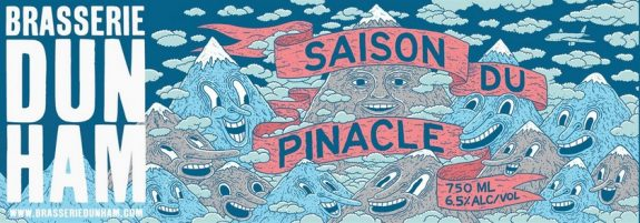 Dunham Saison Du Pinacle label BeerPulse