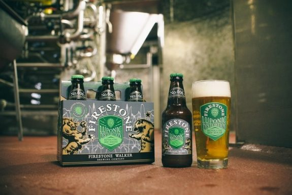 Firestone Walker Luponic Distortion No 006 bottles BeerPulse II