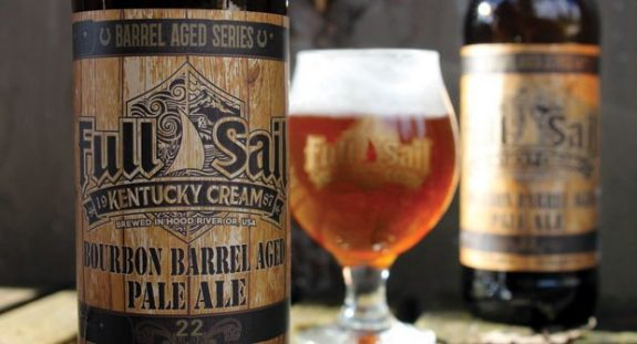 Full Sail Kentucky Cream Barrel Aged Pale Ale now available