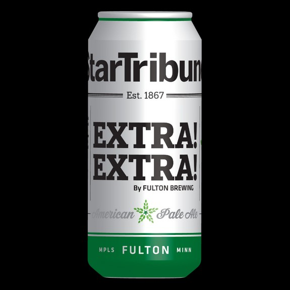 "Fulton ""EXTRA! EXTRA! Pale Ale"" to commemorate 150th anniversary of Star Tribune"