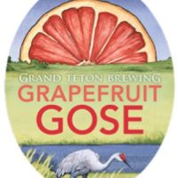 Grand Teton Grapefruit Gose label BeerPulse