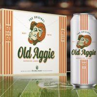 New Belgium CSU Old Aggie Superior Lager BeerPulse