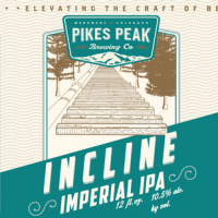 Pikes Peak Incline Imperial IPA label BeerPulse