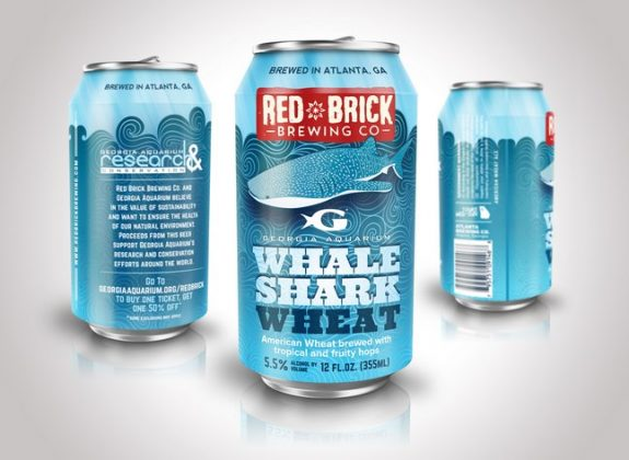 Red Brick Brewing Whale Shark Wheat Can BeerPulse