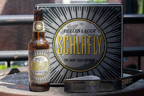 Schlafly Helles Lager Path to Totality BeerPulse