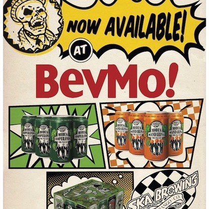SKA Brewing beers now available at all BevMo locations in Northern California