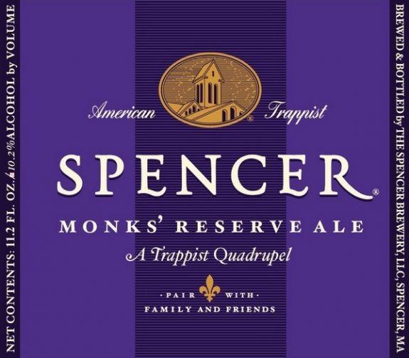 Spencer's Trappist Quad label BeerPulse II