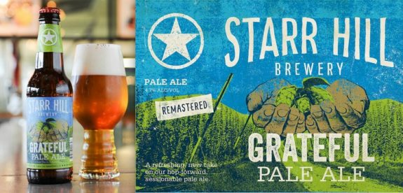 Starr Hill Grateful Pale Ale re-mastered for summer festival season