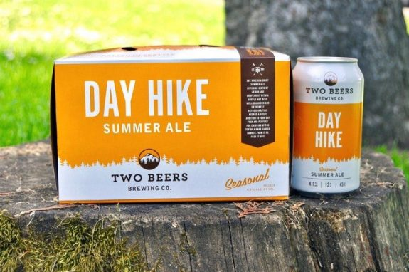 Two Beers Brewing's Day Hike Summer Ale BeerPulse