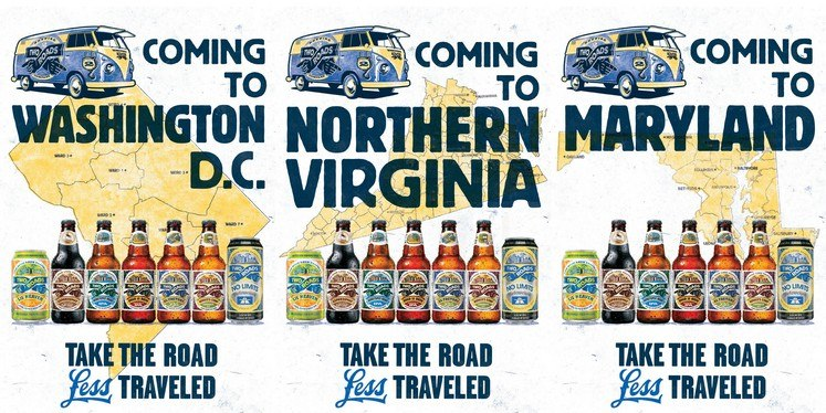 Two Roads Brewing Enters DCNorthern VA Market Next Week MD In - Dc roads