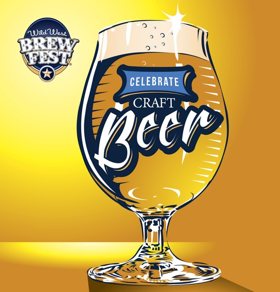 Wild West Brew Fest Celebrate Craft Beer glass BeerPulse