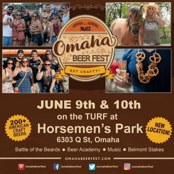 Omaha Beer Fest comes to Horsemen's Park this Friday & Saturday, June 9-10