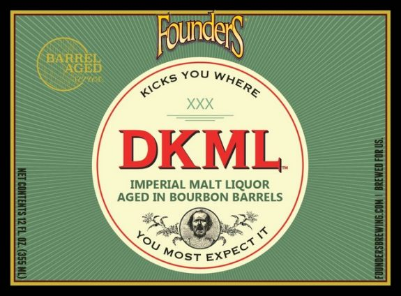 Founders DKML Imperial Barrel-Aged Malt Liquor joins Backstage Series later this year